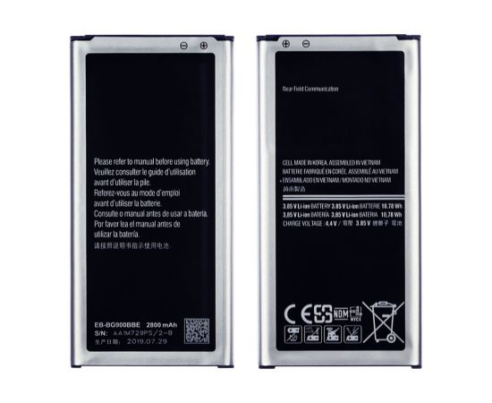Аккумулятор EB-BG900BBE/ EB-BG900BBC для Samsung G900 S5/ G860/ G870/ G901/ G906 AAAA