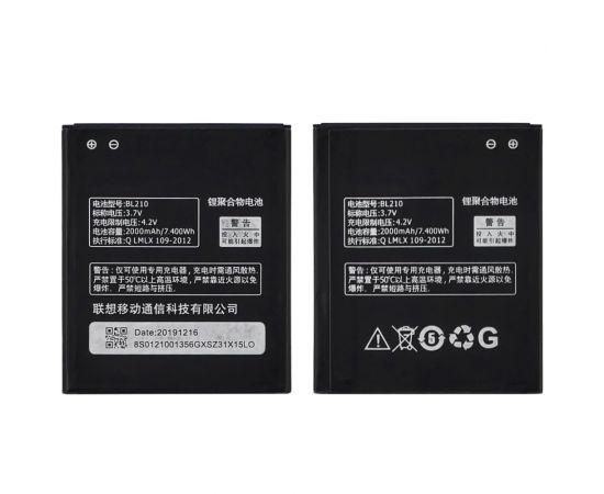 Аккумулятор BL210 для Lenovo A536/ A358T/ A368T/ A529/ A606/ A656/ A658T/ A766/ A828T/ S650/ S820 AAAA