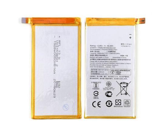 Аккумулятор C11P1603 для Asus ZS570KL ZenFone 3 Deluxe AAAA
