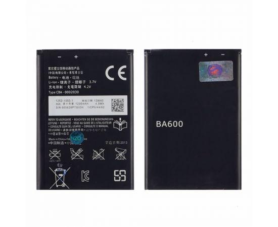 Аккумулятор BA600 для Sony ST25i Xperia U AAAA
