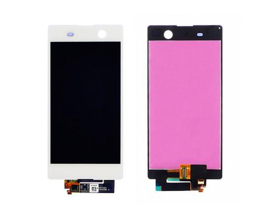 Дисплей для Sony E5603 Xperia M5 Dual Sim/E5606/E5633 с белым тачскрином