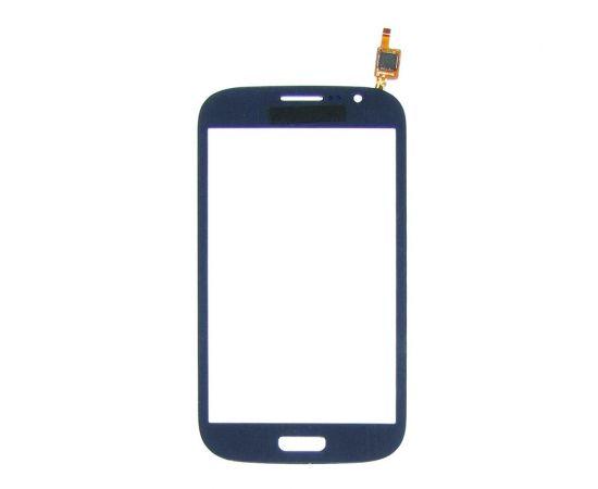 Тачскрин для Samsung i9082 Galaxy Grand Duos тёмно-синий